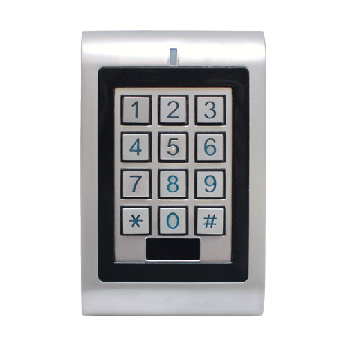 transmitter solutions stand alone wiegand keypad with reader. Black Bedroom Furniture Sets. Home Design Ideas