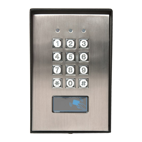 transmitter solutions stand alone keypad with em reader. Black Bedroom Furniture Sets. Home Design Ideas